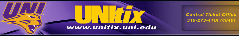 UNItix - University of Northern Iowa | Online Ticket Office